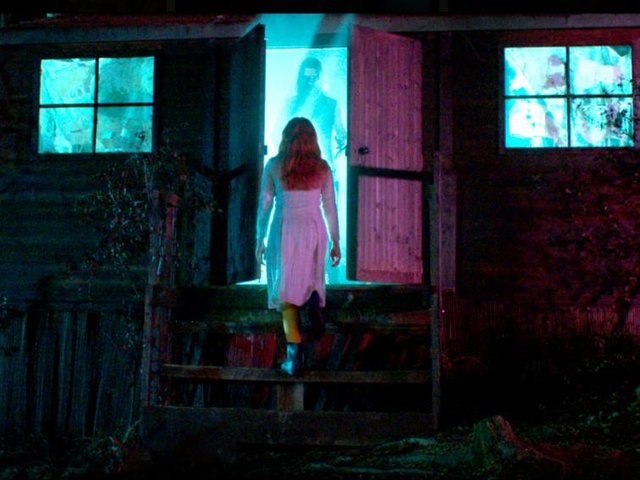 A scene from horror film Censor, which will be released in August 2020. Photo courtesy of Magnet Releasing.