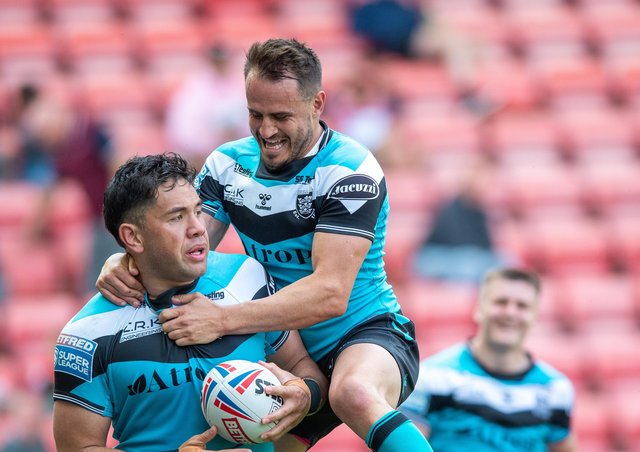 Strange times: Since Andre Saveilo and Hull defeated Leigh on June 19 they have played on match, with their next game scheduled to be against the Centurions on July 11.   Picture Bruce Rollinson