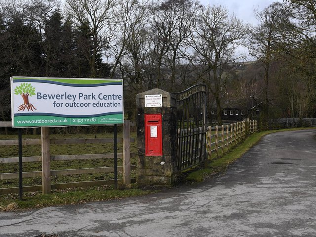 The outdoor education centre at Bewerley Park near Pateley Bridge
