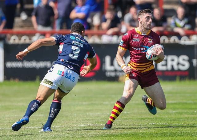Huddersfield's Jake Wardle against Wakefield Trinity (Picture: SWPix.com)