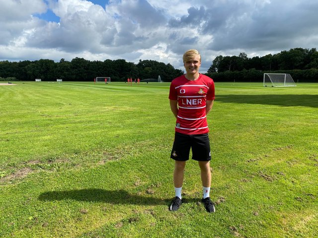 ARRIVAL: Arsenal youngster Matt Smith
