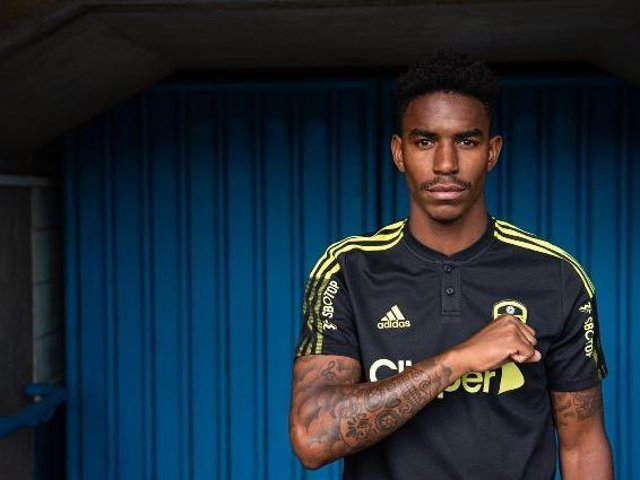Junior Firpo. Picture courtesy of Leeds United.