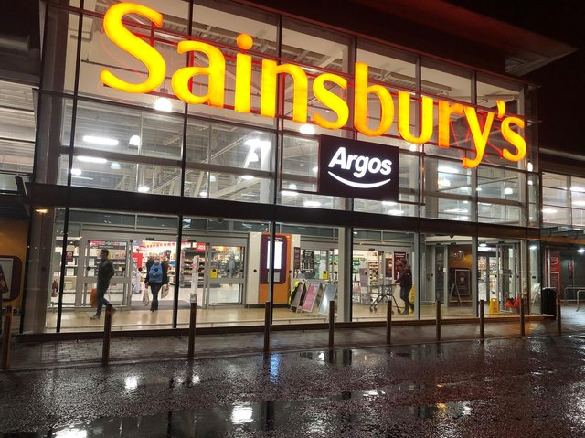 Sales at Sainsbury's were better than expected in the last three months as households appeared to stay at home to eat rather than head off to restaurants and cafes, despite Covid-19 restrictions easing.