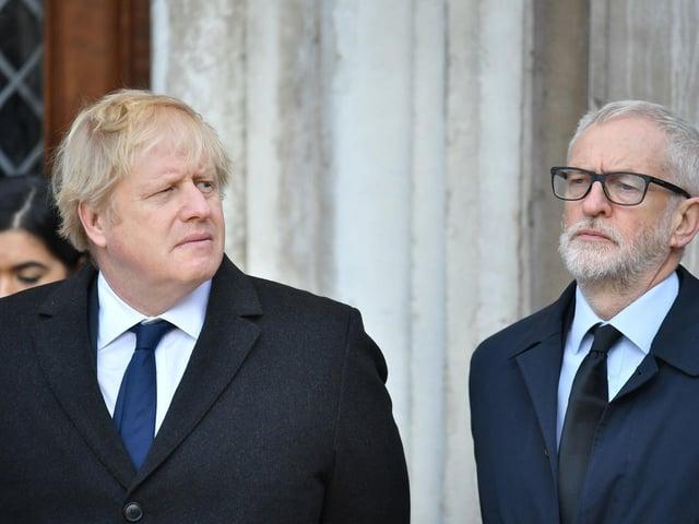 Do Boris Johnson's spending plans have echoes of Jeremy Corbyn? Picture: PA