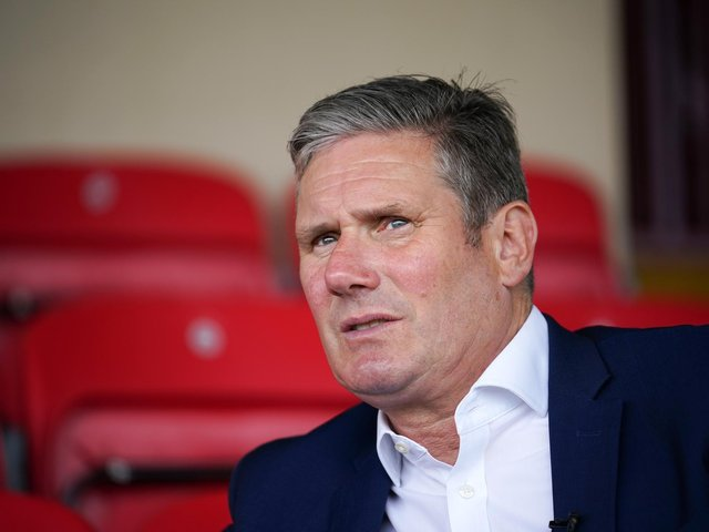 Labour leader Sir Keir Starmer. Photo by Christopher Furlong/Getty Images.