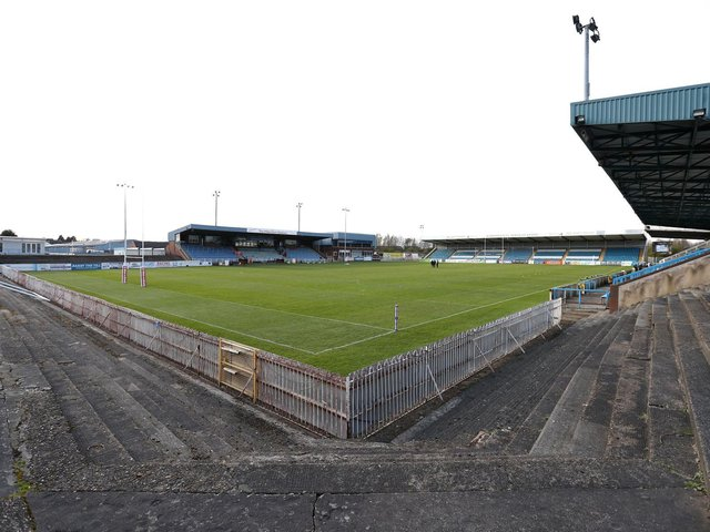 The club's Millennium Stadium ground, on Post Office Road in Featherstone. Picture courtesy of George Wood/Getty.