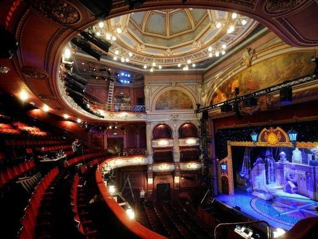 Inside Bradford's spectacular Alhambra Theatre