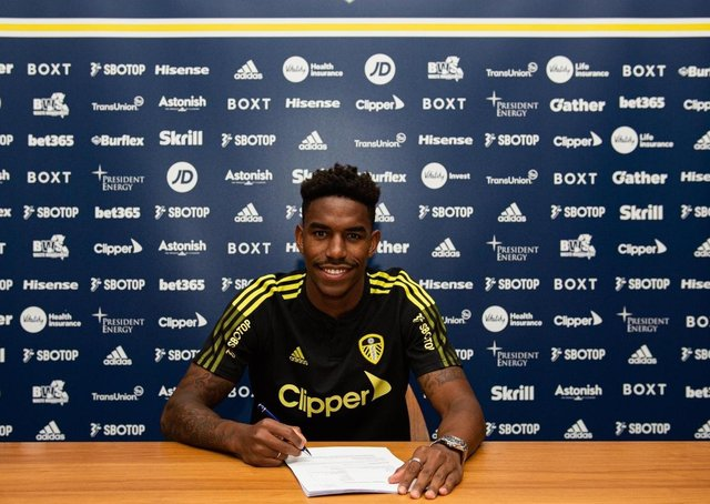 Firpo has signed a four-year deal (Picture: LUFC)