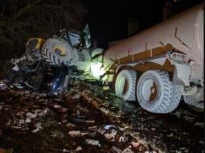 As a result of the crash damage, a large amount of slurry spilled onto the A19. It required an extensive clean-up operation involving Yorkshire Water, North Yorkshire Council and the Environment Agency. The A19 remained closed until around 6am the following day as a result.