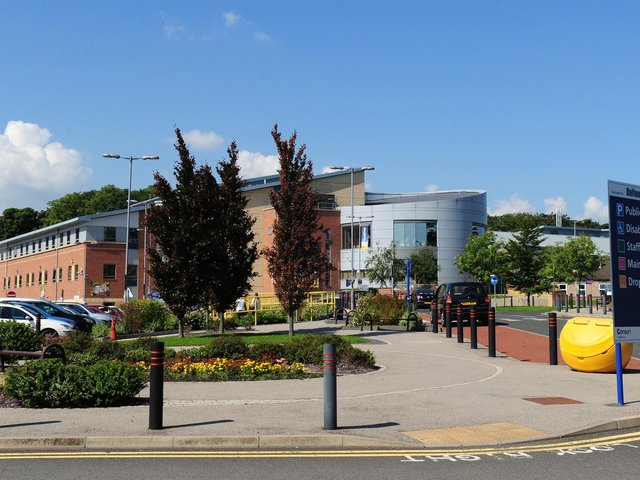 University Hospital of North Durham, where Peter Sutcliffe died on November 13