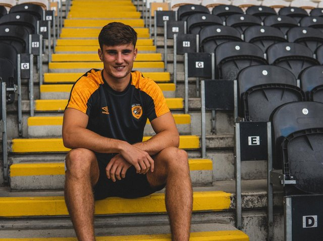 New Hull City signing Ryan Longman. Picture courtesy of Hull City AFC.