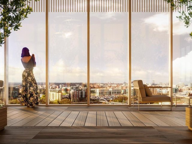 Sky Gardens will be on the site of Midland Mills on the edge of Leeds city centre
