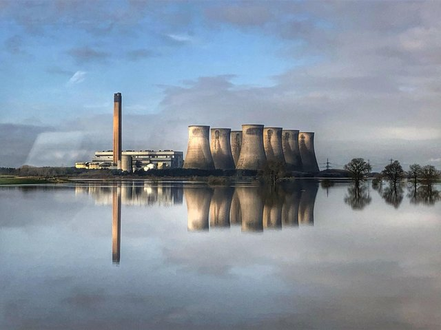 Land at Eggborough Power Station is also earmarked for development