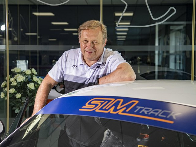 Gary Booth has set up a community interest company to encourage disabled people to try motorsports. Picture: Tony Johnson