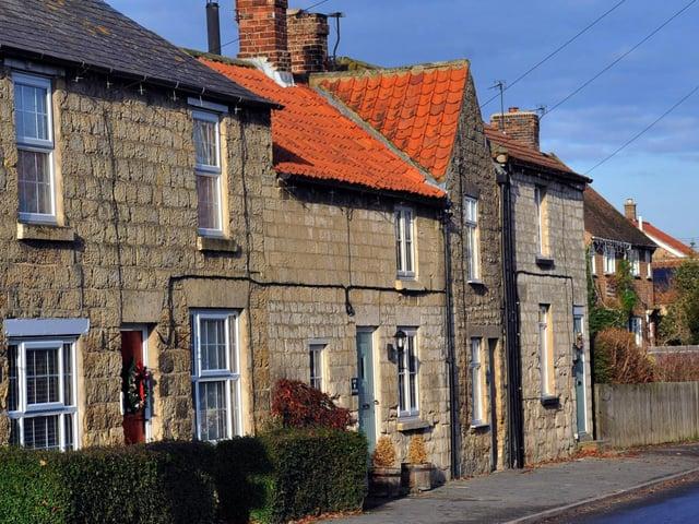 The historic village of Amotherby, near Malton