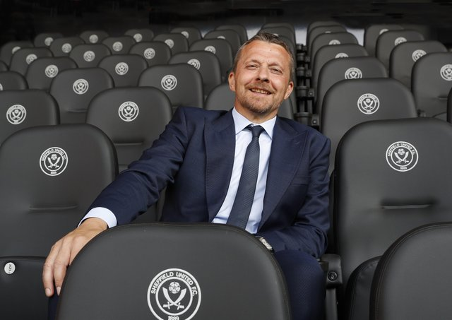 Slavisa Jokanovic the new manager of Sheffield United. Picture: Darren Staples / Sportimage