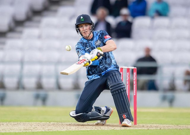 CONSISTENT: Yorkshire Vikings' Harry Brook has impressed in the Vitality T20 Blast. Picture by Allan McKenzie/SWpix.com