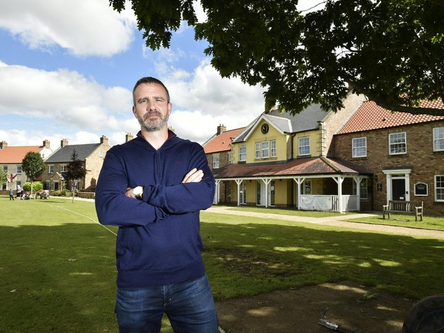 James Staveley, who owns the North Stainley Estate, has overseen a multi-million pound investment in housing and facilities including a new village hall which has been driven alongside the community living there. (Photo: Steve Riding)