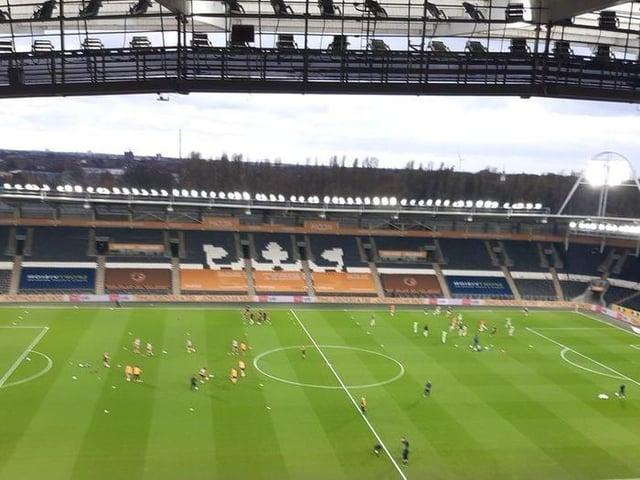 The MKM Stadium, home of Hull City.
