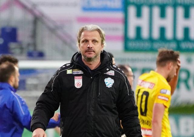 GOOD START: Head coach Markus Schopp of Hartberg Picture: Markus Tobisch/Getty Images