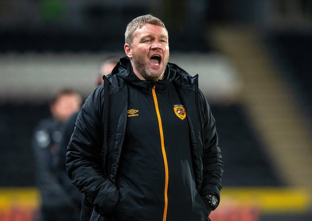 Hull City manager Grant McCann. Picture: Bruce Rollinson.