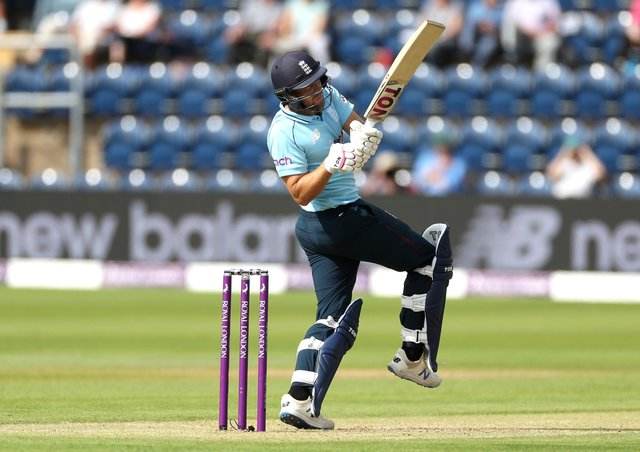 Good knock: Yorkshire's Dawid Malan on his way to 68 not out in England's nine-wicket win against Pakistan. Picture: Bradley Collyer/PA Wire.