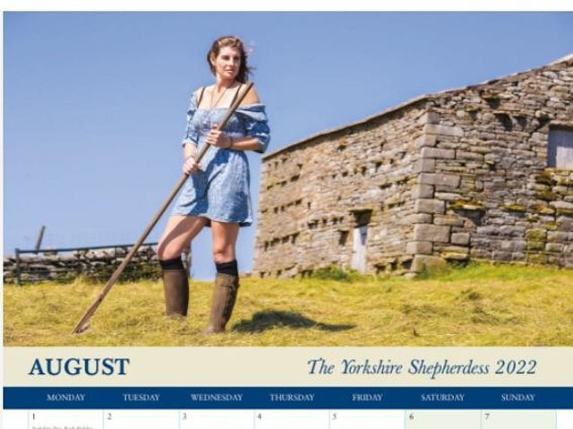 Our Yorkshire Farm star Amanda Owen has launched her own calendar for 2022