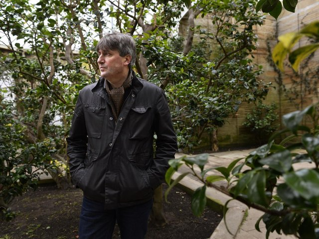 Simon Armitage has been recording a new series of The Poet Laureate Has Gone To His Shed.  (Bruce Rollinson).
