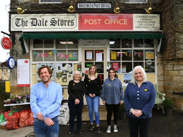 The Walwyn family run The Dale Stores in Birstwith, near Harrogate