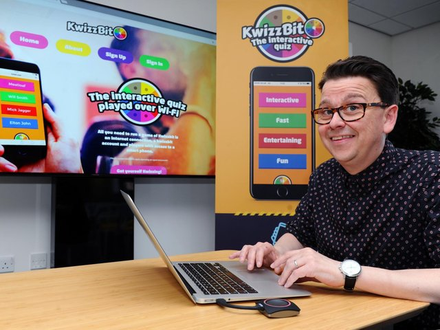 Mark Walsh established KwizzBit in 2017.