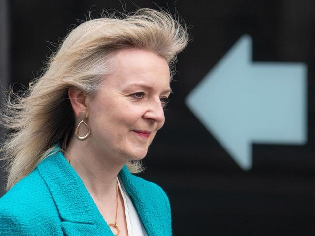 International Trade secretary Liz Truss, pictured April 2021 (Dominic Lipinski/PA)
