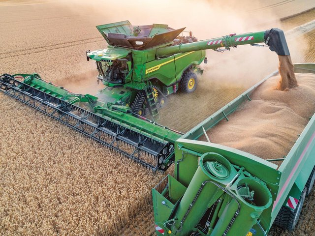 The John Deere X9 1100 combine harvester will be taking pride of place at the Ripon Farm Services stand at the showground.