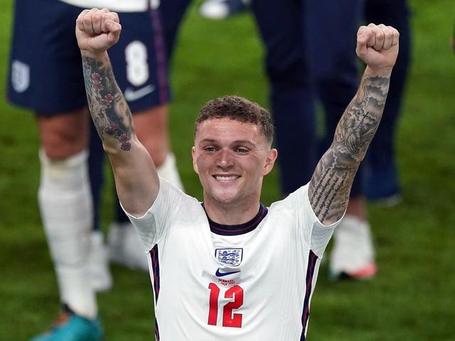 RECALL: England defender Kieran Trippier