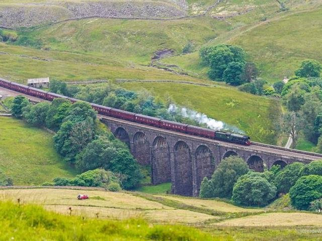 The Flying Scotsman in Yorkshire (Pic: John Dewhirst)