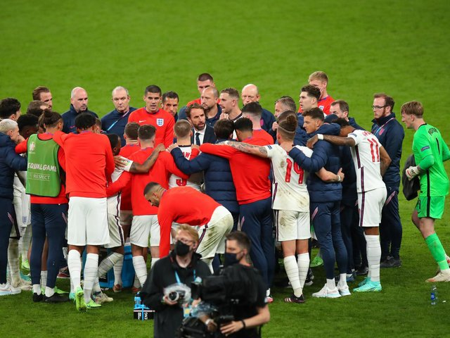 EURO 2020: England 1-1 Italy (AET - Italy win 3-2 on penalties). Picture: Getty Images.