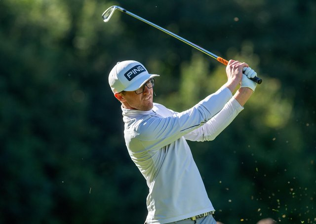 Nick Poppleton: Makes his Open Championship debut at Royal St George's this week. (Picture: Bruce Rollinson)