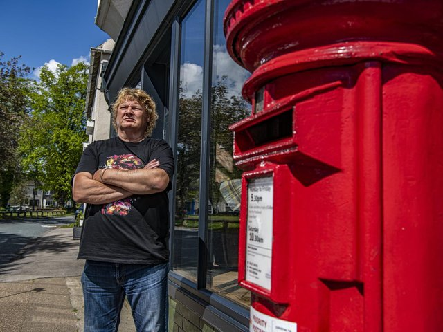 Former subpostmaster Gary Brown from Rawcliffe near Goole, was among the hundreds of subpostmasters who fell victim to the Post Office's Horizon computing scandal which saw them wrongly blamed for financial losses that were IT faults. Picture: Tony Johnson