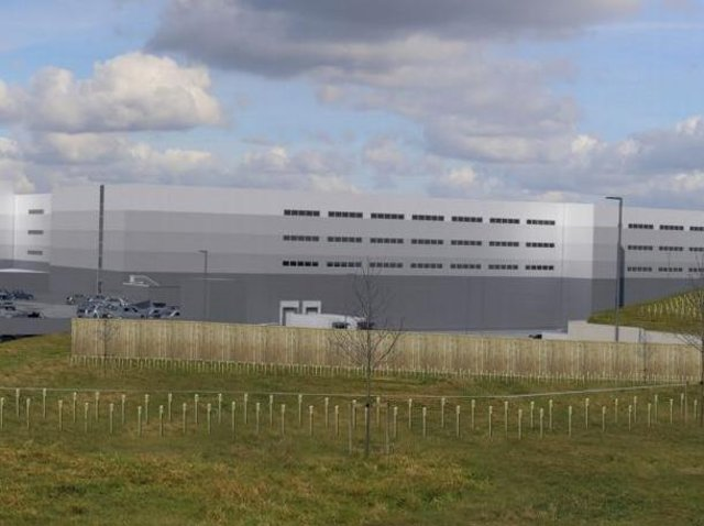 How the proposed Amazon distribution centre could look