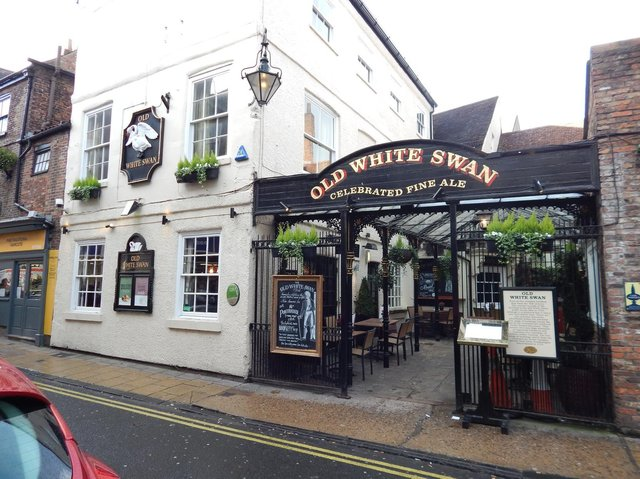 The Old White Swan in York