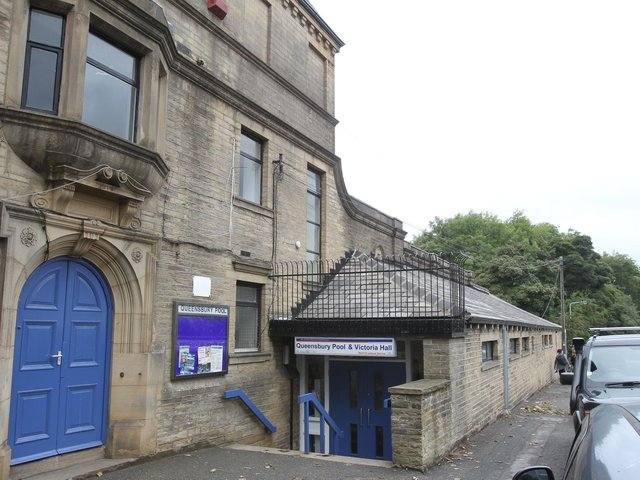 The old Victorian baths at Queensbury have been shut since 2019 and are uncertain to re-open