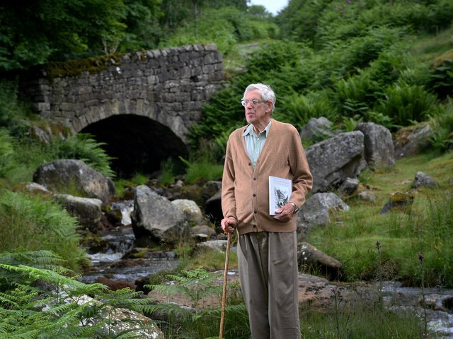 Former Yorkshire Post reporter, editor of The Dalesman and author David Joy at Hebden, North Yorkshire. Picture: Simon Hulme.
