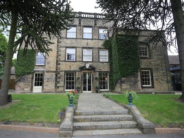A wide shot of Mosborough Hall Hotel.