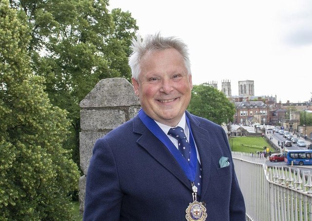 Laurence Beardmore is president of the York and North Yorkshire Chamber of Commerce