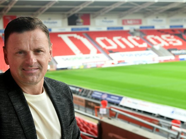 MANAGER: Doncaster Rovers' Richie Wellens