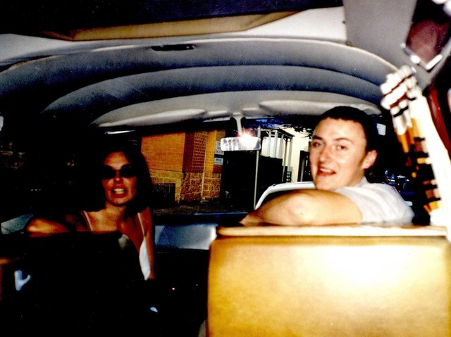 Joanne Lees and Peter Falconio who were travelling on the Stuart Highway, north of Alice Springs, Australia, when he was killled. (Credit: Northern Territory Police)