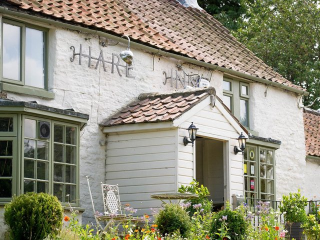 The Hare Inn, a restaurant with rooms, in Helmsley