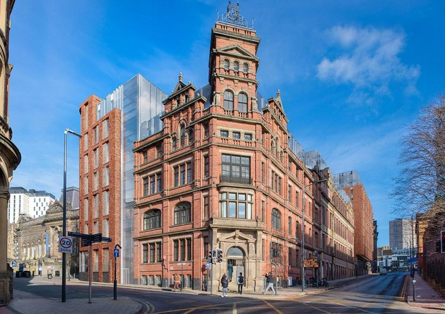 McLaren Property intends to repurpose the Leonard Printworks, the Leonardo building and Thoresby House.