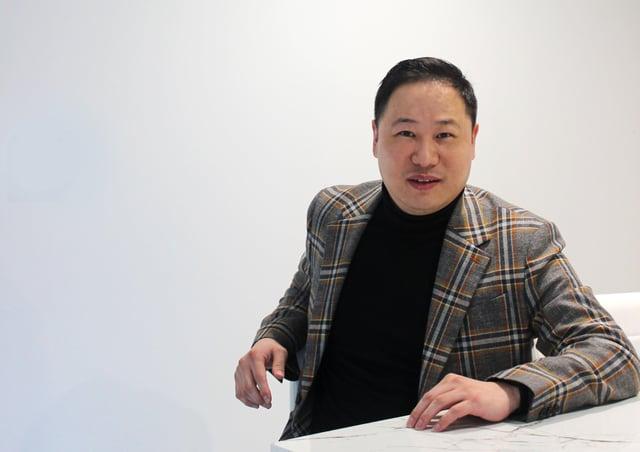 Ivan Zhou, chief executive of Pegasus Group in Leeds.