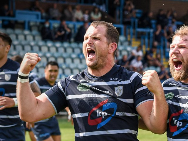 CAPTAIN: James Lockwood has expressed his pride as he prepares to lead Featherstone Rovers out at Wembley for the 1895 Cup final against York City Knights on Saturday. Picture: Dec Hayes Photography.
