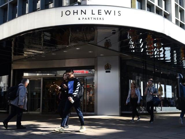 Jobs at risk at John Lewis